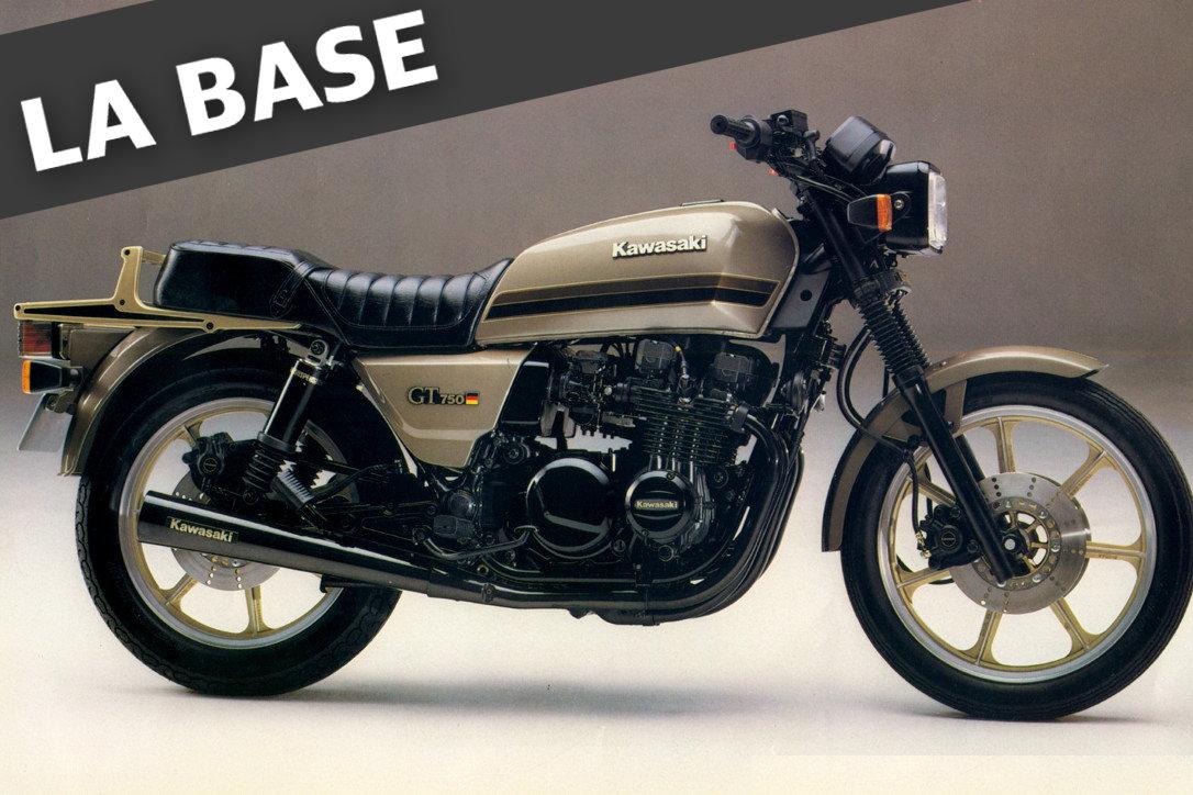 moto kawasaki cafe racer