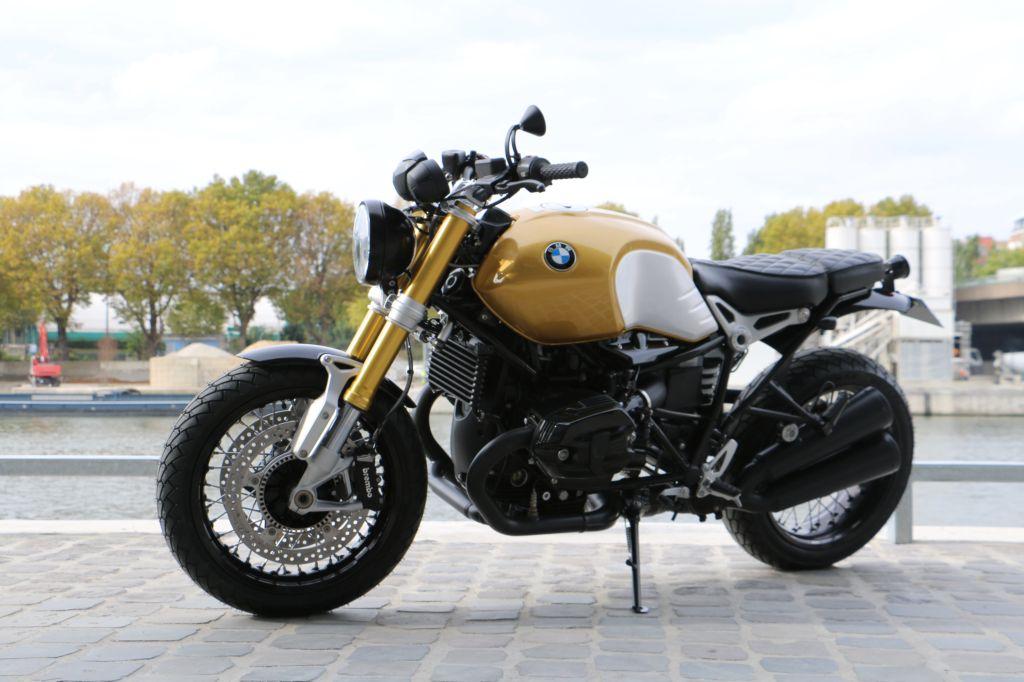 bmw r nine t gold par modification motorcycles atelier de. Black Bedroom Furniture Sets. Home Design Ideas