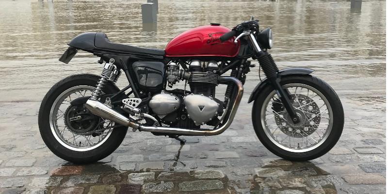 accessoires triumph bonneville et thruxton 900 caf racer pas cher pi ces moto et personnalisation. Black Bedroom Furniture Sets. Home Design Ideas